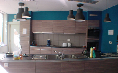 Het Broekkot - common kitchen