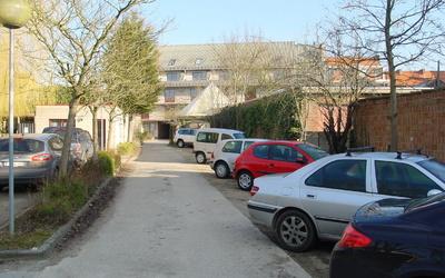 Domus Paludium - parking area