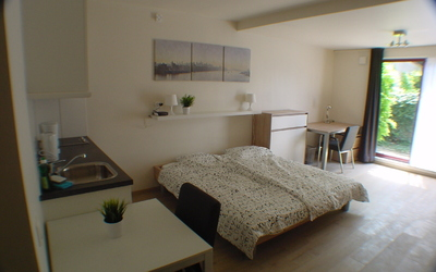 Domus Paludium studio double bed DP0001 till DP0004