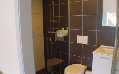 Domus Paludium studio standard 20m² bathroom