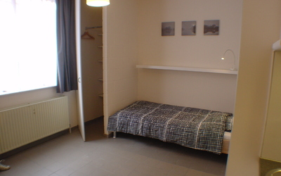 Domus Paludium studio standard 20m² bed 90x200cm with mattress