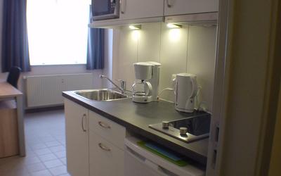 Domus Paludium studio standard 20m² kitchen