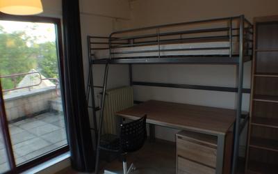Domus Paludium room DP0201 loft bed and desk