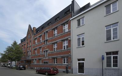 Domus Martinus front vieuw - Sint Maartenstraat 42 te Leuven