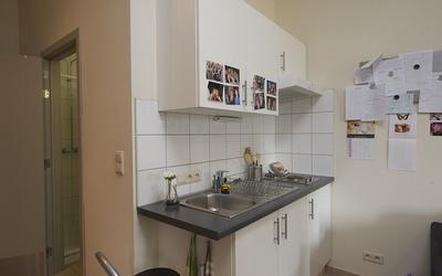 domus Martinus studio kitchenette
